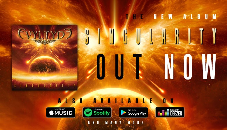 The new album 'Singularity' available now!
